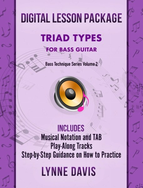 Triad Types for Bass Guitar
