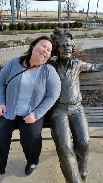 Lynne and Einstein