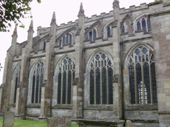Side of Fotheringhay Church