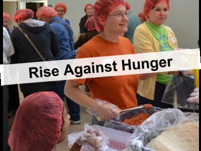Rise Against Hunger Volunteers