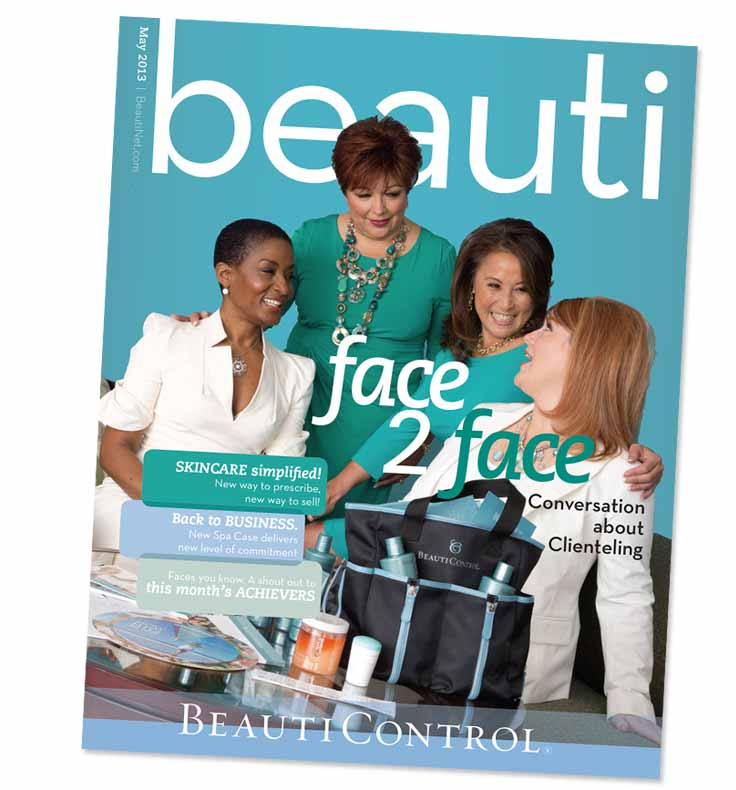 BeautiControl Magazine Redesign