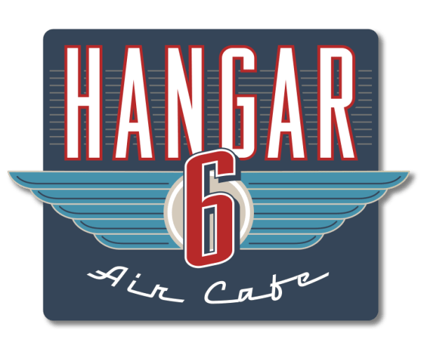 Hangar 6 Air Cafe Logo