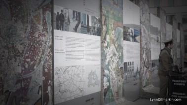 The Berlin Wall in Potsdamer Platz