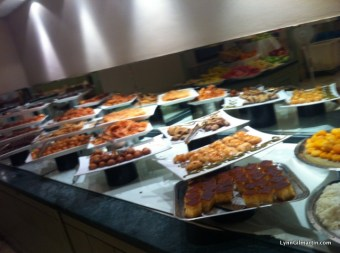 Mercure Cyprus Buffet - Desserts at Lunch