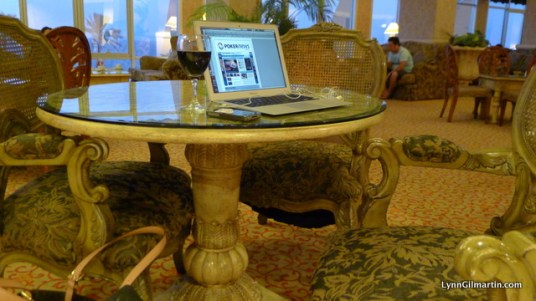 Mercure Cyprus Lobby - Not a Bad Place to Work From!