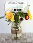 Mason Jar Crafts on Pinterest has a bunch of great ideas.