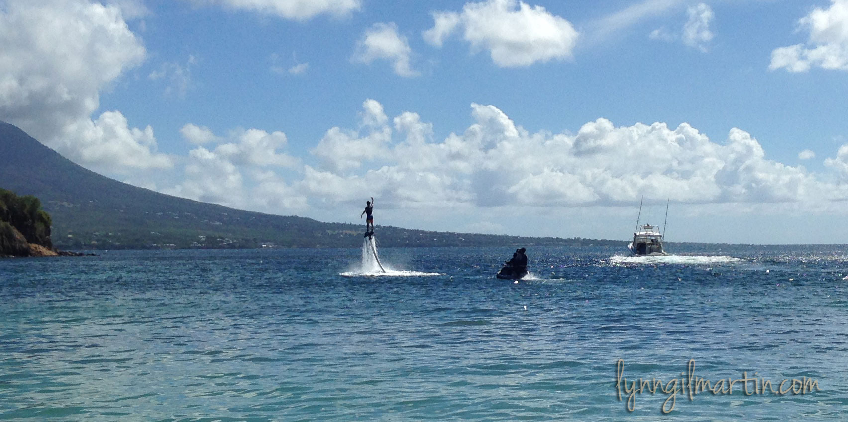 Jason Koon Fly Boarding in St Kitts