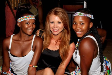 Some of the gorgeous Zulu dancers