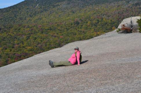 Me atop Mt. Pemigewasset (the Indian Head), Lincoln NH
