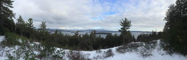 Panorama from The Glade