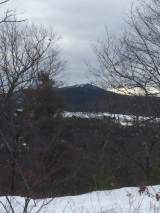 Looking toward Gunstock - you can see a couple of the ski runs at the top