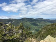 View from Mt. Webster's craggy summit.