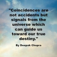 Quote - Coincidence - Deepak Chopra