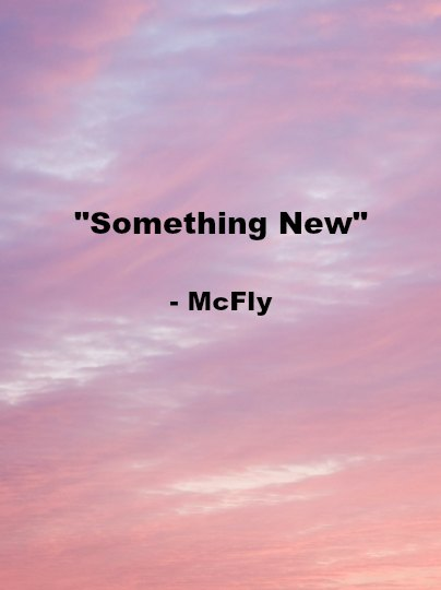 Song - Something New
