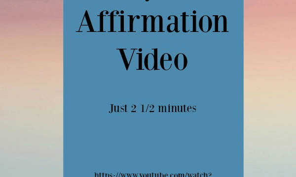 Videos - Dr. Wayne Dyer Affirmation