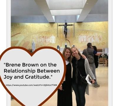 Video - Brene Brown on Joy and Gratitude