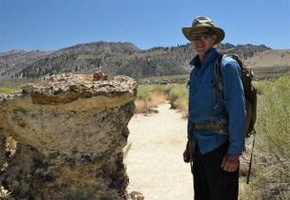 Jim on South Tufa Trail