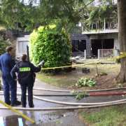 Mountain Village Garden Apartment Fire