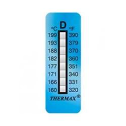 Thermax cinta irreversible de medicion de temperatura