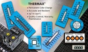 thermax cintas medición de temperatura adhesivas
