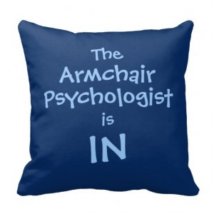 armchair-psychologist