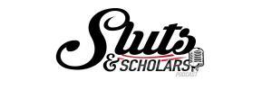 sluts & scholars podcast logo lynsey g