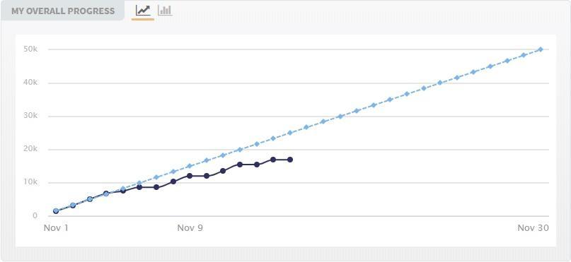 nanowrimo progress report lynsey g