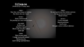 Silence - LYRICS - (c) Lyn V. Conary