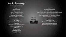 Dark Journey - LYRICS - (c) Lyn V. Conary