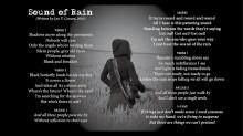 Sound of Rain - LYRICS - (c) Lyn V. Conary