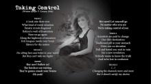 Taking Control - LYRICS - (c) Lyn V. Conary