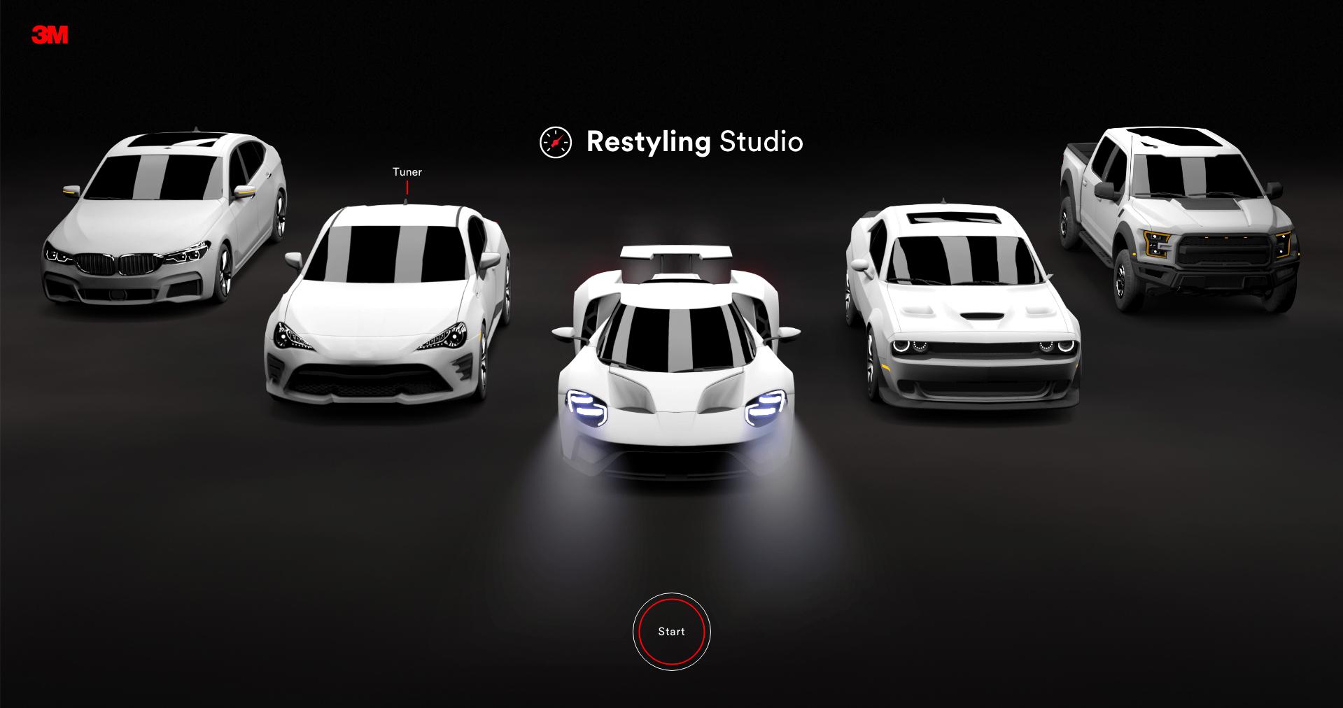 3M Auto Restyler Studio