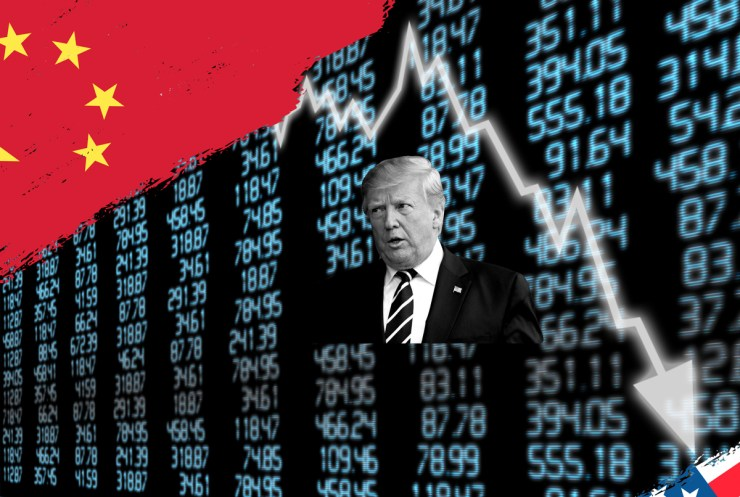 Dow Drops 925 Intraday on Trump's Tariffs and Yuan Devaluation