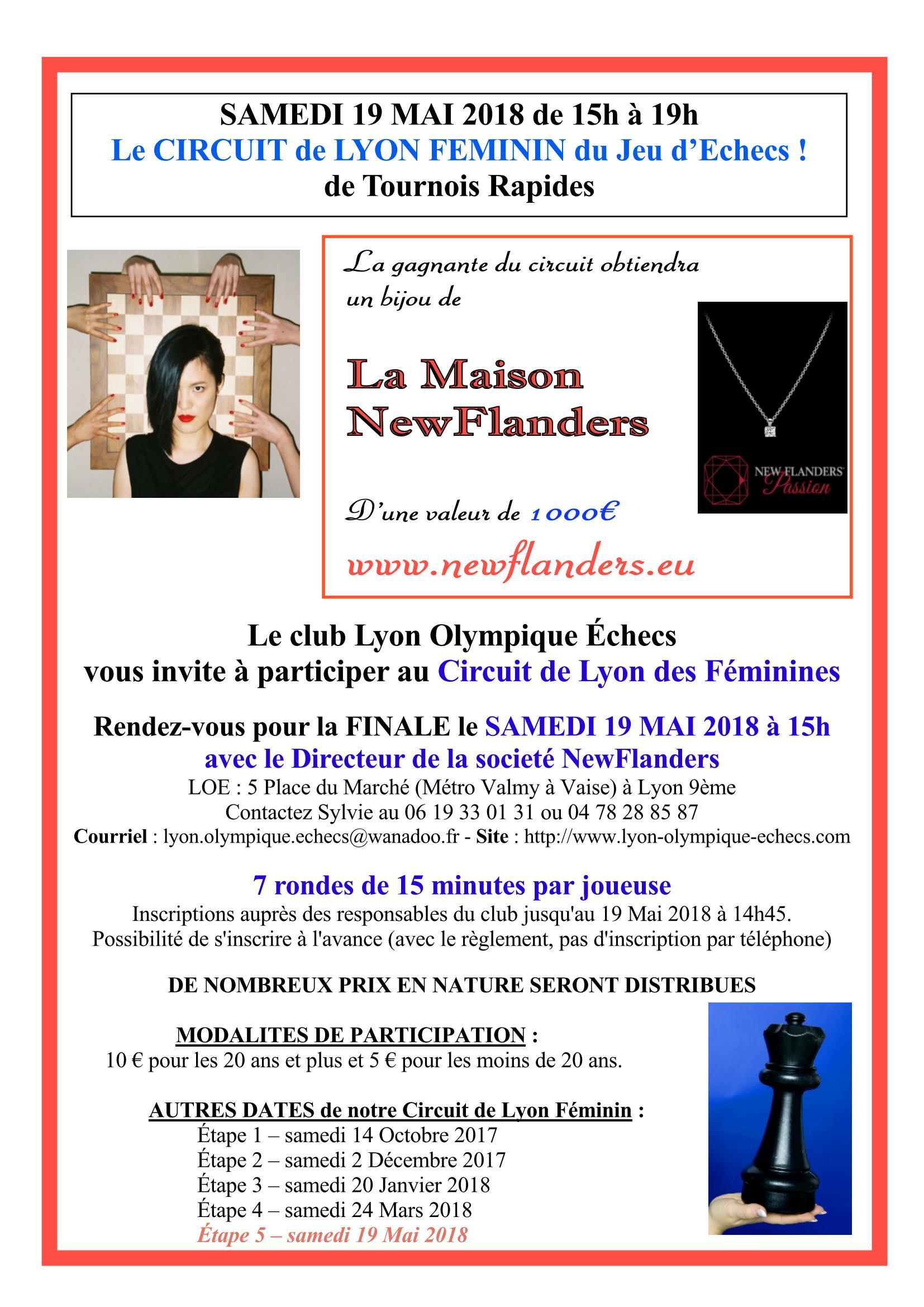 Circuit Féminin du LOE, des diamants à gagner ! (d'une valeur de 1 000 €)
