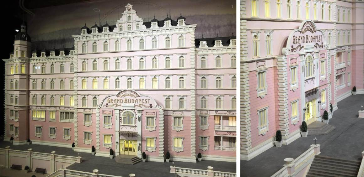 Wes Anderson Musee miniature