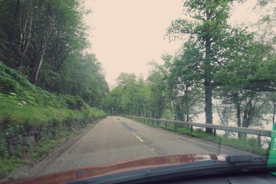 Road Trop en éocosse