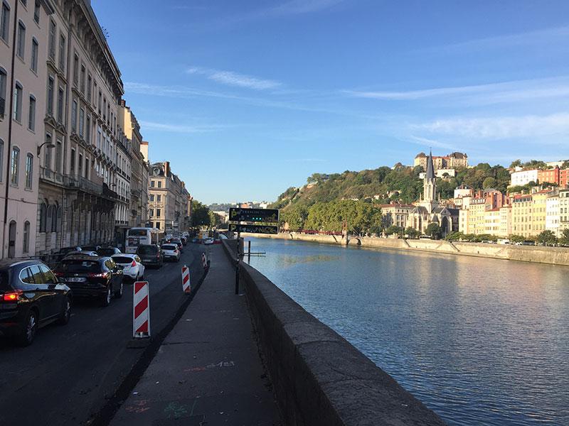 Faire du Vélo à Lyon
