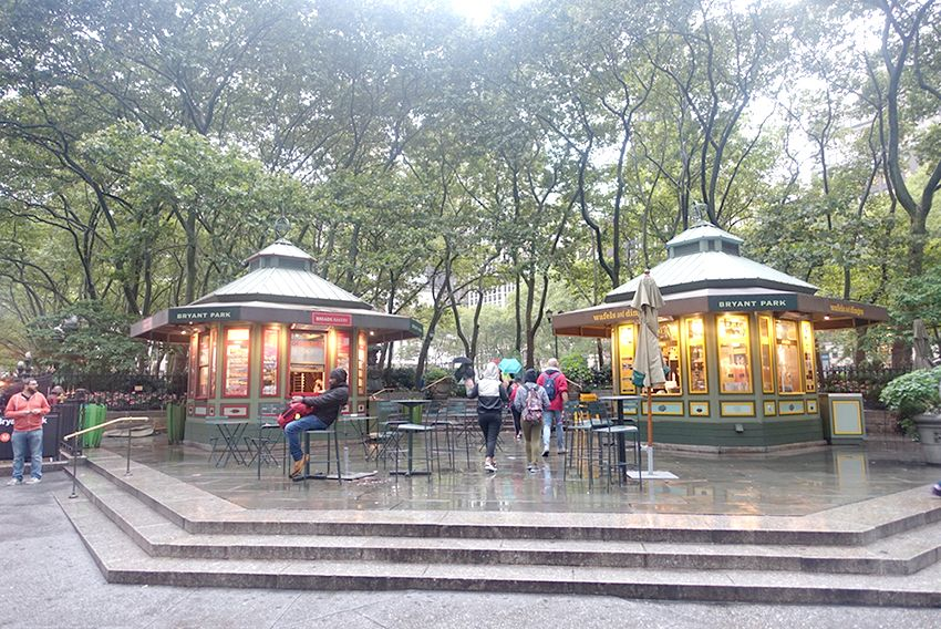 Kiosque Bryant Park