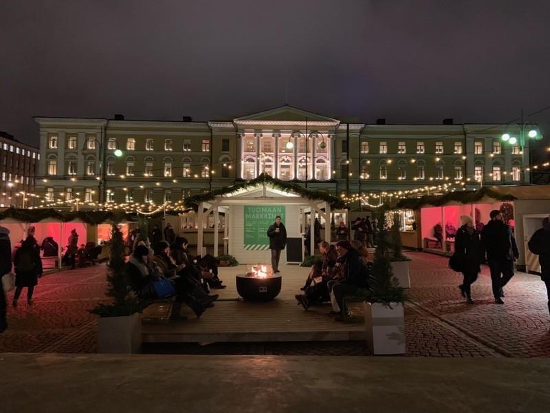 Marché de Noël Helsinki
