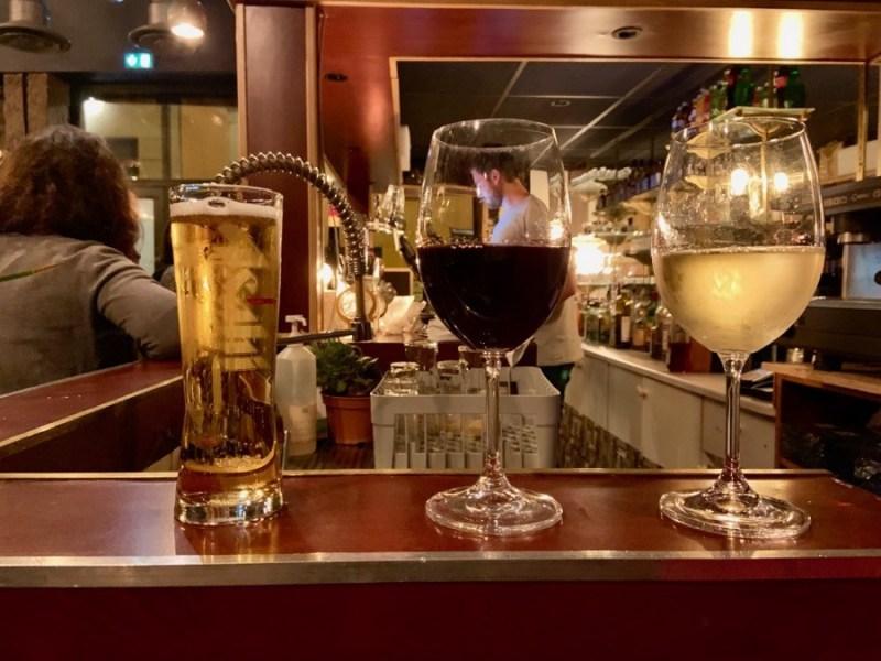 Biere et vin au Mini Bar