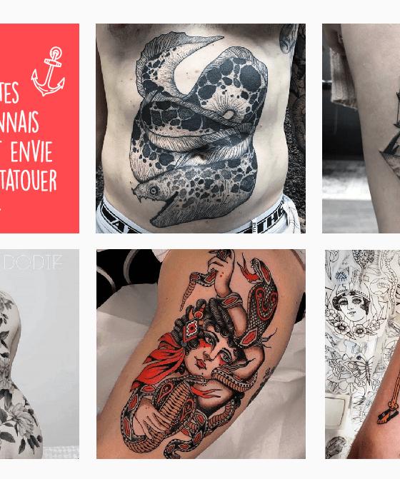 comptes instagram tatoueurs lyonnais
