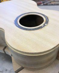 UKU-T-13 Tenor ukulele ready for banding