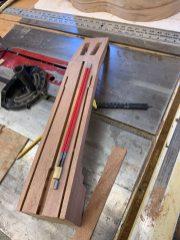 Hot Rod truss rod installation