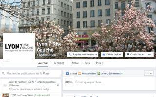 Réseaux sociaux - Lyon 7 Rive Gauche sur Facebook et lyon 7 rive gauche