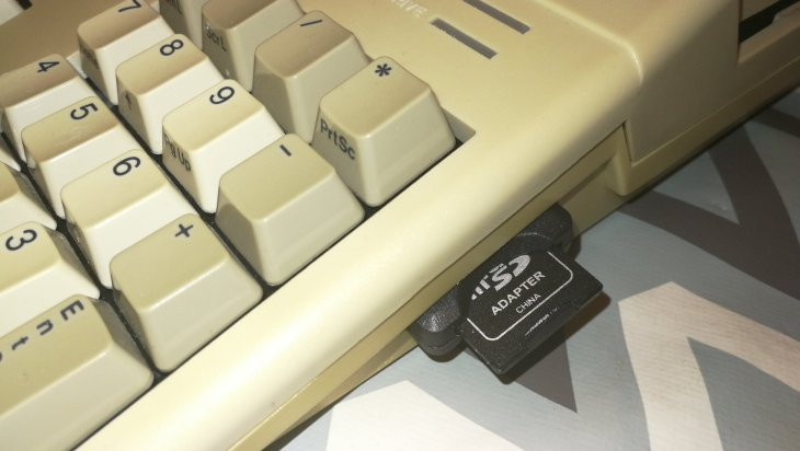SD Card Slot and HDMI port to an Amiga 500