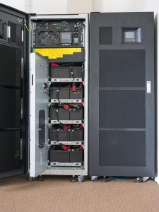Battery in large uninterruptible Power Supply (UPS)