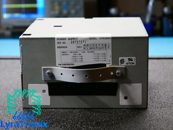TDK-VYK3004-power-supply-repair