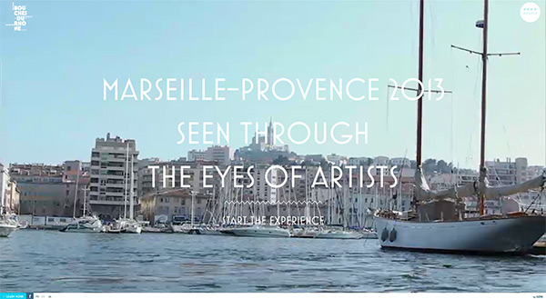 MyProvence Festival in 50 Creative Full Screen Video Background Websites
