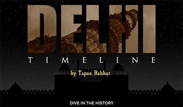 Delhi Timeline in Web Design Inspirational Cocktail #82