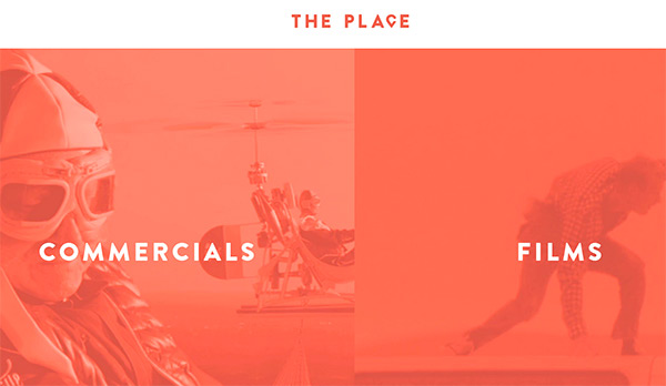 The Place in 45 Modern Minimal Websites